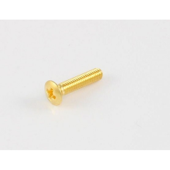 ALL PARTS GS3378002 BUTTON SCREWS FOR HOLDING BUTTON ONTO KEY (6 PIECES) GOLD, SHORT 7/16