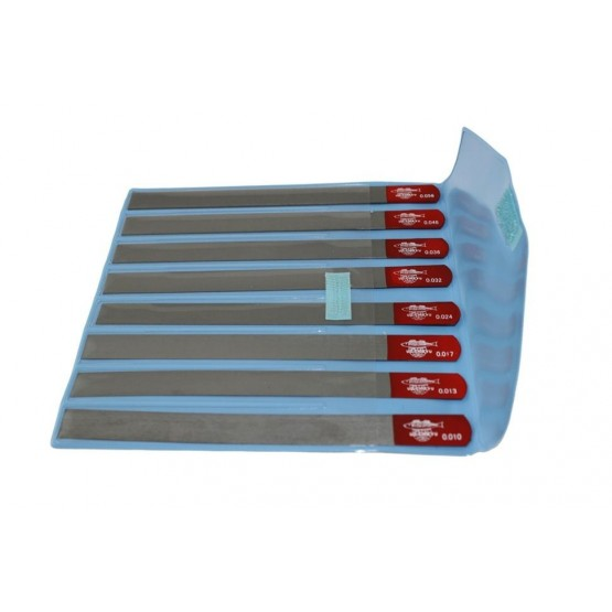 ALL PARTS LT1020000 NUT SLOTTING FILE SET (8 PIECES) 010, 013, 017, 024, 032, 036, 046, 056