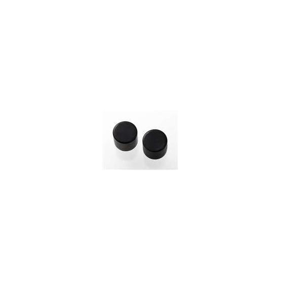 ALL PARTS MK0115003 BLACK BARREL KNOBS (2) FLAT TOP