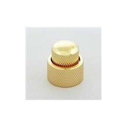 ALL PARTS MK0138002 CONCENTRIC STACKED KNOB SET WITH SET SCREWS GOLD