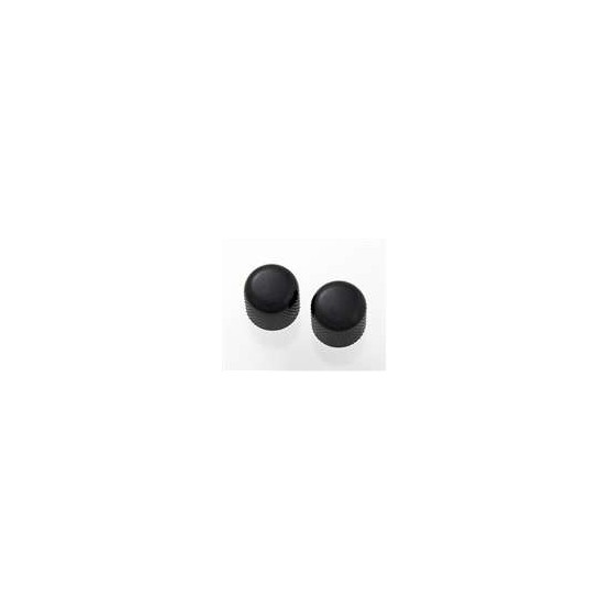 ALL PARTS MK0910003 BLACK DOME KNOBS (2) WITH SET SCREW