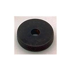 ALL PARTS MK3155003 BLACK METAL ROLLER KNOBS (2) FOR JAZZMASTER WITH SET SCREWS