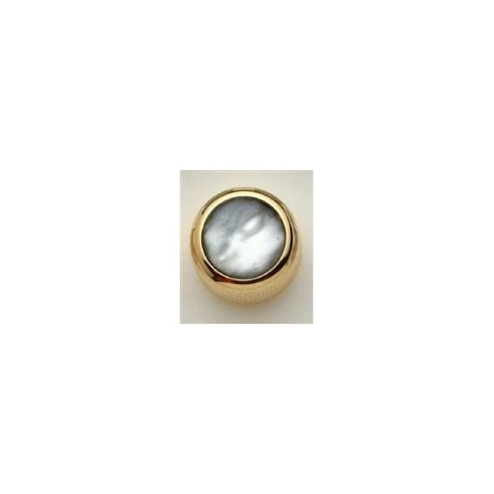 ALL PARTS MK3172002 BLACK PEARL ACRYLIC ON GOLD KNOB WITH SET SCREW