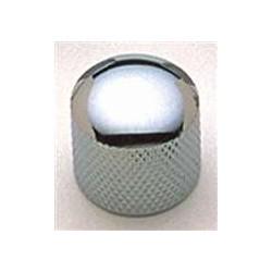 ALL PARTS MK3300010 CHROME DOME KNOBS (2) PUSH-ON FITS SPLIT SHAFT POTS