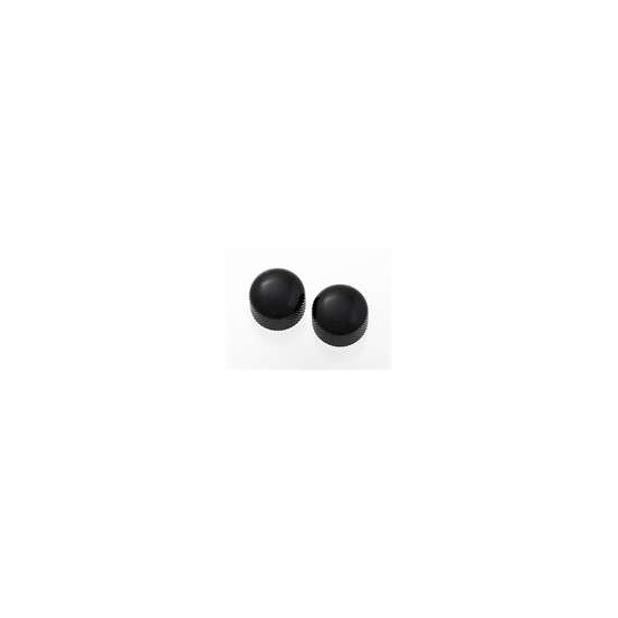 ALL PARTS MK3315003 MINI BLACK DOME KNOBS (2) WITH SET SCREW