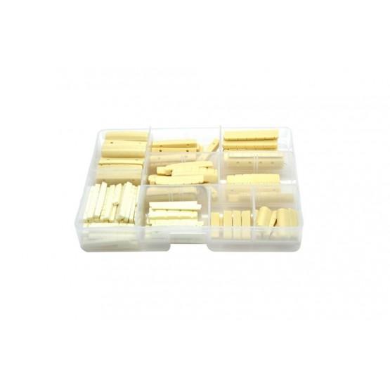 ALL PARTS NA2901000 PLASTIC NUT ASSORTMENT DISPLAY BOX OF 156 NUTS UNIDAD
