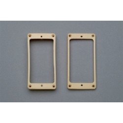 ALL PARTS PC0734028 VINTAGE CLONE HUMBUCKING PICKUP RING SET, AGED CREAM