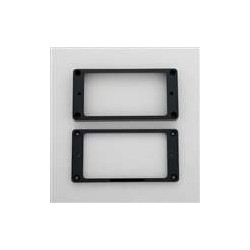 ALL PARTS PC0745023 HUMBUCKING PICKUP RING SET NECK AND BRIDGE NOT-SLANTED BLACK