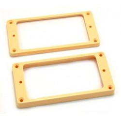 ALL PARTS PC0745028 HUMBUCKING PICKUP RING SET NECK AND BRIDGE NOT-SLANTED CREAM