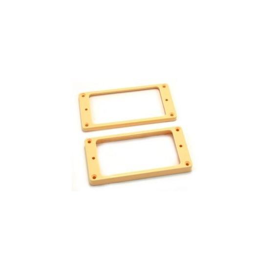 ALL PARTS PC0745028 HUMBUCKING PICKUP RING SET NECK AND BRIDGE NOT-SLANTED CREAM