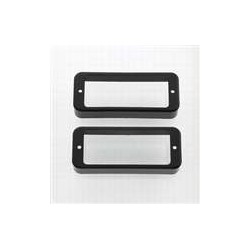 ALL PARTS PC0747023 MINI HUMBUCKING PICKUP RINGS (2 PIECES), BLACK