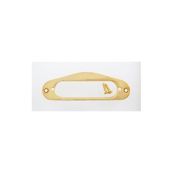 ALL PARTS PC0761002 METAL PICKUP MOUNTING RING FOR STRAT SIZED PICKUP, GOLD