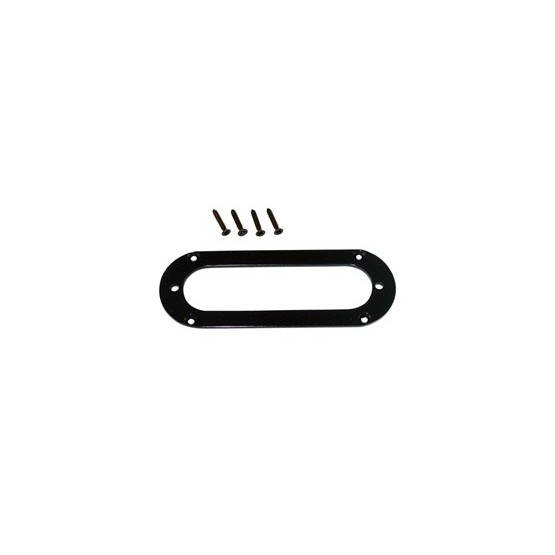 ALL PARTS PC5765003 METAL PICKUP MOUNTING RING FOR STRAT SIZED PICKUP, BLACK, OVAL