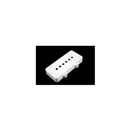 ALL PARTS PC6400025 PICKUP COVER SET FOR JAZZMASTER (2 PIECES), WHITE NYLON
