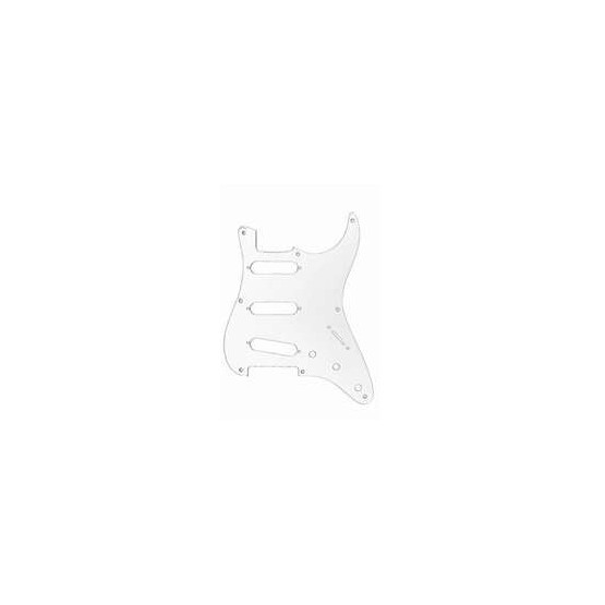 ALL PARTS PG0550031 PICK GUARD FOR STRAT, CLEAR (8 SCREW HOLES)