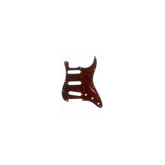 ALL PARTS PG0552043 PICK GUARD FOR STRAT, TORTOISE 3-PLY (T/W/B) (11 SCREW HOLES)