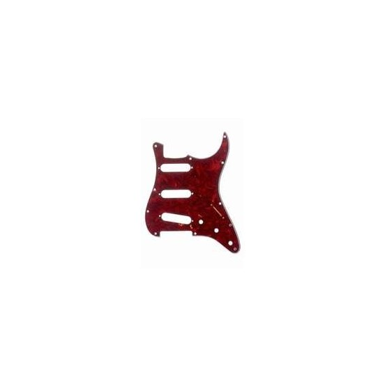 ALL PARTS PG0552044 PICK GUARD FOR STRAT VINTAGE RED TORTOISE 3-PLY (RT/W/B)