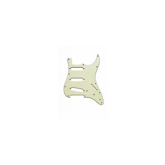 ALL PARTS PG0554024 PICK GUARD FOR STRAT MINT GREEN 3-PLY (MG/B/MG)