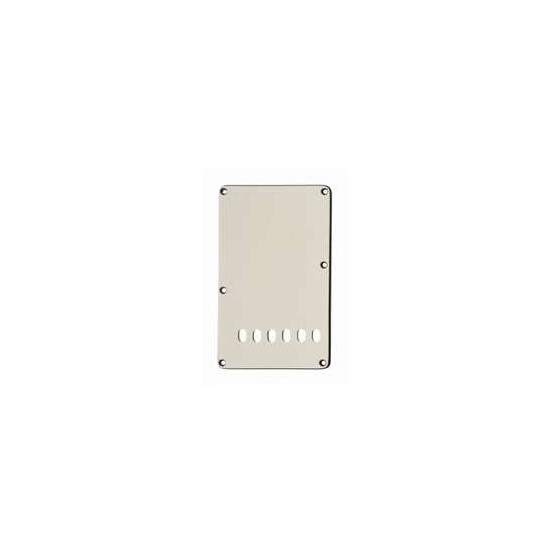 ALL PARTS PG0556050 TREMOLO SPRING COVER, PARCHMENT (OLD WHITE) 3-PLY (P/B/P)