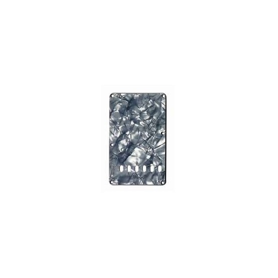 ALL PARTS PG0556053 TREMOLO SPRING COVER, BLACK PEARLOID 3-PLY (BP/B/W)