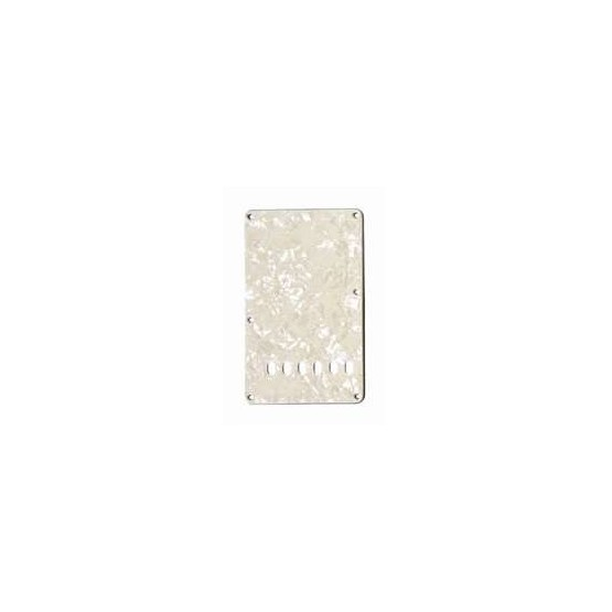 ALL PARTS PG0556065 TREMOLO SPRING COVER, PARCHMENT PEARLOID 3-PLY (PP/W/B)