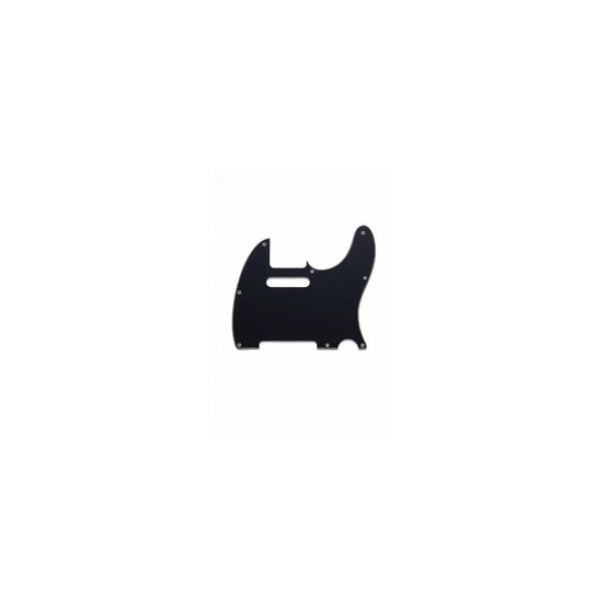 ALL PARTS PG0562033 PICK GUARD FOR TELE, BLACK 3-PLY (B/W/B) (8 SCREW HOLES)