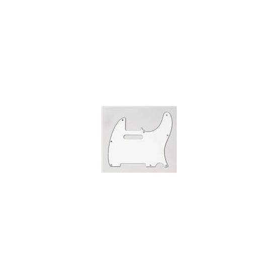 ALL PARTS PG0562050 PICK GUARD FOR TELE PARCHMENT (OLD WHITE) 3-PLY (P/B/P)