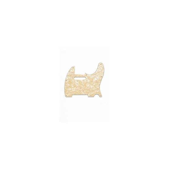 ALL PARTS PG0562058 PICK GUARD FOR TELE, CREAM PEARLOID 3-PLY (CP/B/W) (8 SCREW HOLES)