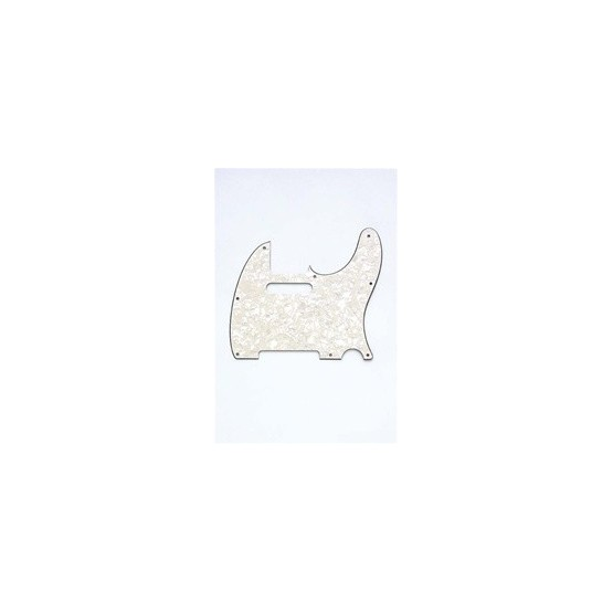 ALL PARTS PG0562065 PICK GUARD FOR TELE, PARCHMENT PEARLOID 3-PLY (PP/W/B)