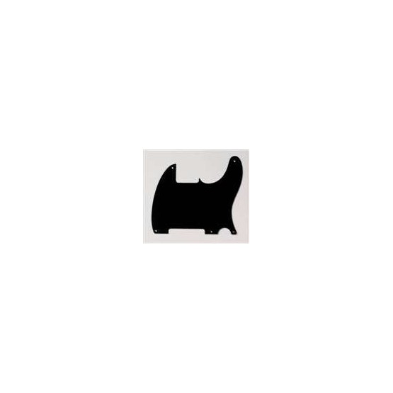 ALL PARTS PG0567034 PICK GUARD FOR ESQUIRE, BLACK MATTE 1-PLY (5 SCREW HOLES)