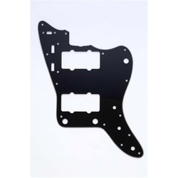 ALL PARTS PG0582033 PICK GUARD FOR JAZZMASTER, BLACK 3-PLY (B/W/B)
