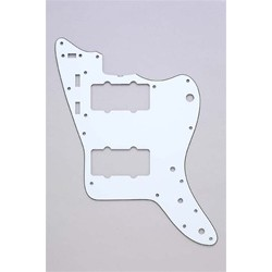 ALL PARTS PG0582035 PICK GUARD FOR JAZZMASTER WHITE 3-PLY (W/B/W)