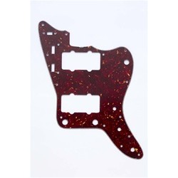 ALL PARTS PG0582044 PICK GUARD FOR JAZZMASTER VINTAGE RED TORTOISE 3-PLY (RT/W/B)