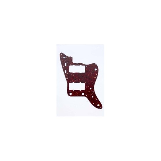 ALL PARTS PG0582044 PICK GUARD FOR JAZZMASTER, VINTAGE RED TORTOISE 3-PLY (RT/W/B)