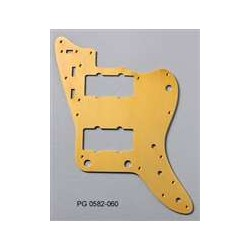 ALL PARTS PG0582060 PICK GUARD FOR JAZZMASTER ANODIZED ALUMINUM GOLD