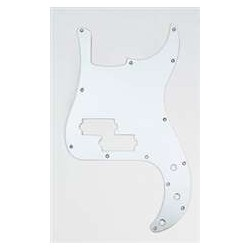 ALL PARTS PG0750014 PICK GUARD FOR P BASS, POLISHED ALUMINUM.