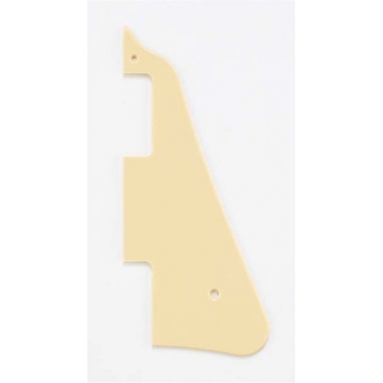 ALL PARTS PG0800028 PICK GUARD FOR LES PAUL, CREAM 1-PLY