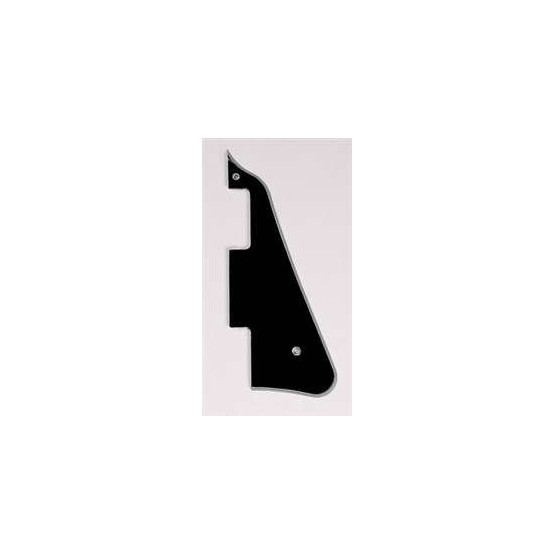 ALL PARTS PG0800037 PICK GUARD FOR LES PAUL, BLACK 5-PLY (B/W/B/W/B)
