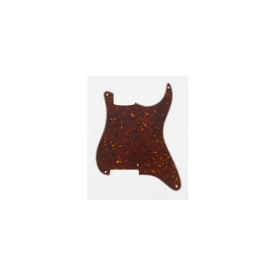 ALL PARTS PG0992043 PICK GUARD OUTLINE FOR STRAT, (NO HOLES) TORTOISE 3-PLY (T/W/B)
