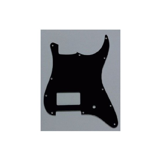 ALL PARTS PG0993033 PICK GUARD 1 HUMBUCKING - 1 POT HOLE STRAT BLACK 3-PLY