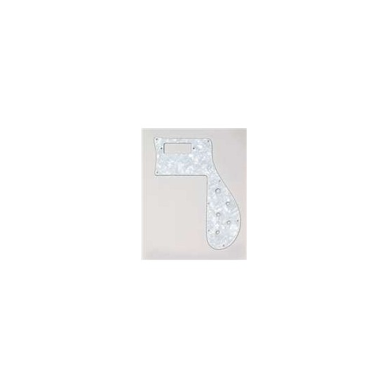 ALL PARTS PG9845055 PICK GUARD FOR RICKENBACKER BASS 4001 WHITE PEARLOID