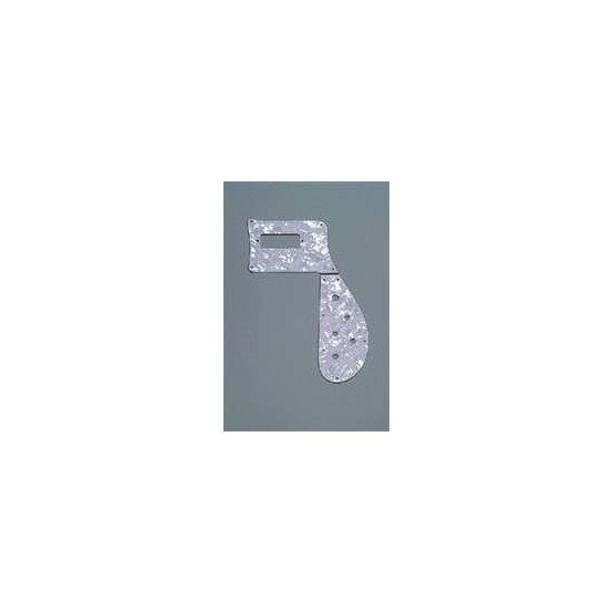 ALL PARTS PG9849055 PICK GUARD FOR RICKENBACKER BASS 4003, WHITE PEARLOID (WP/W/B)