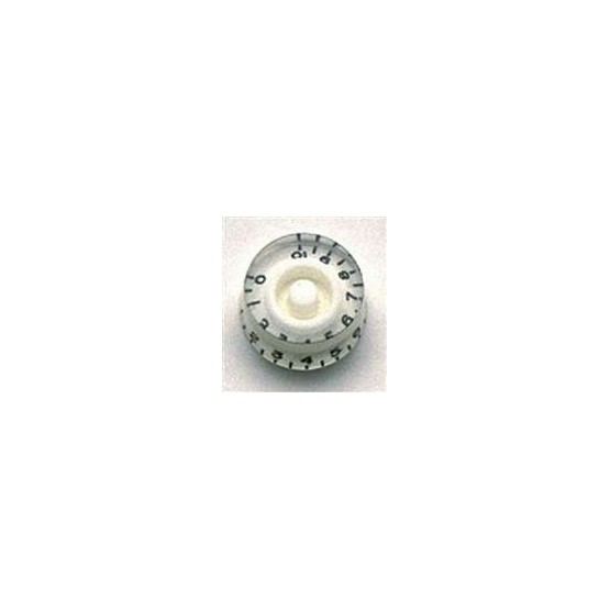 ALL PARTS PK0130025 SPEED KNOBS (2) WHITE, FITS USA SPLIT SHAFT POTS