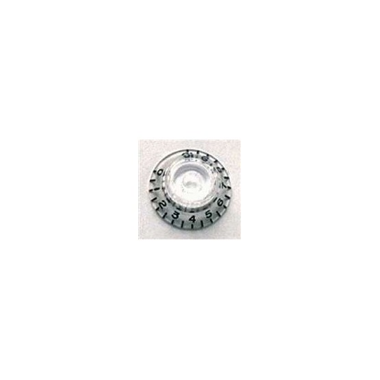 ALL PARTS PK0140031 BELL KNOBS (2) CLEAR, FITS USA SPLIT SHAFT POTS