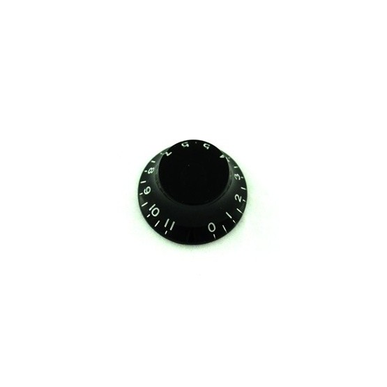 ALL PARTS PK0142023 BELL KNOBS (2) BLACK, NUMBERS 0 - 11, FITS USA SPLIT SHAFT POTS