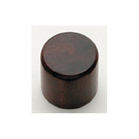 ALL PARTS PK0197000 WATER BUFFALO HORN KNOBS (2) WITH SET SCREW BLACK