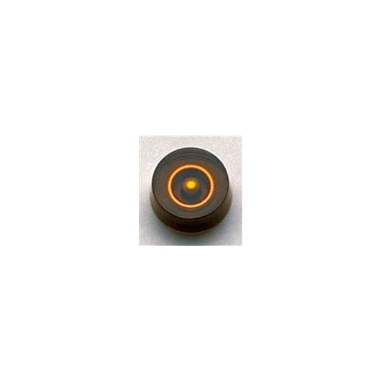ALL PARTS PK3230022 SPEED KNOBS (2) AMBER, NO NUMBERS, FITS USA SPLIT SHAFT POTS