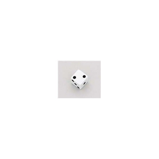 ALL PARTS PK3250025 WHITE DICE KNOBS (2 PIECES) WITH SET SCREW