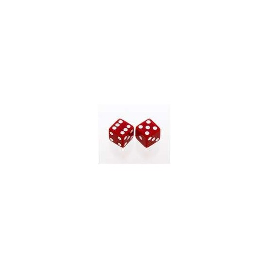 ALL PARTS PK3250026 RED OPAQUE DICE KNOBS (2 PIECES) WITH SET SCREW