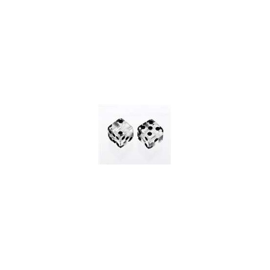 ALL PARTS PK3250031 CLEAR DICE KNOBS (2 PIECES) WITH SET SCREW